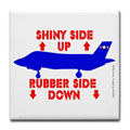 Military Artifacts - Shiny Side Up, Rubber Side Down