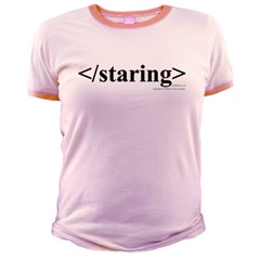 Ladies, separate the Brains from the Brawn with this techy way to say stop staring.